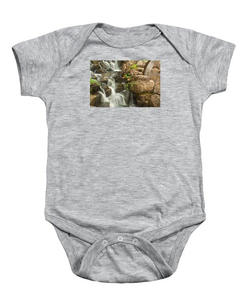 Mill Wheel With Waterfall Baby Onesie