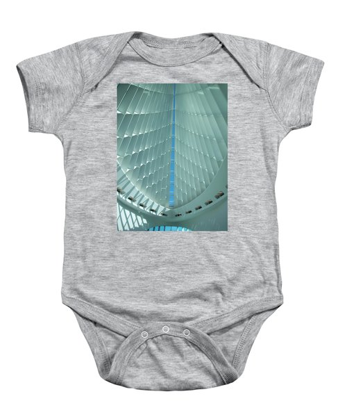 Milwaukee Art Museum Interior Baby Onesie