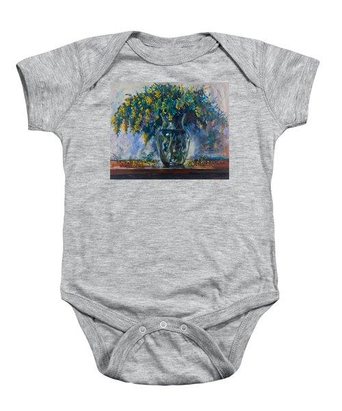 Mimosa Baby Onesie