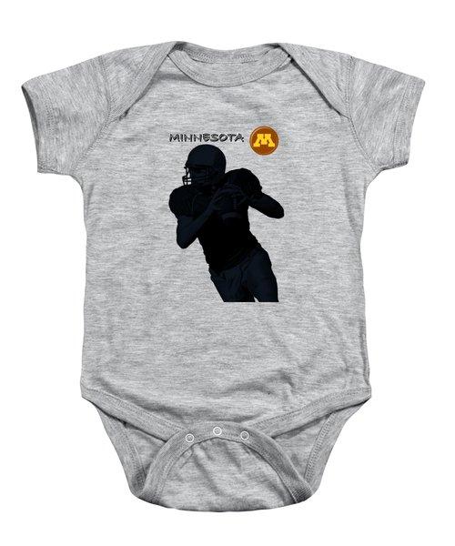 Minnesota Football Baby Onesie
