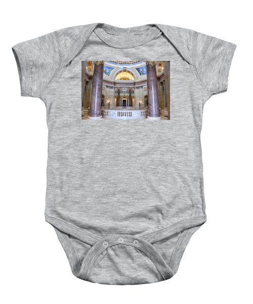 Minnesota House Doors Baby Onesie