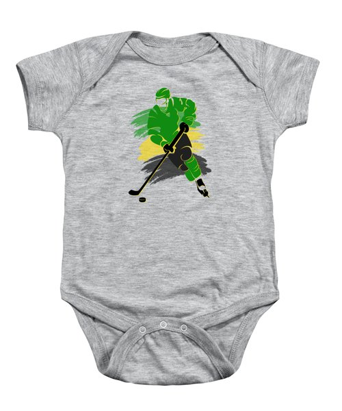 Minnesota North Stars Player Shirt Baby Onesie