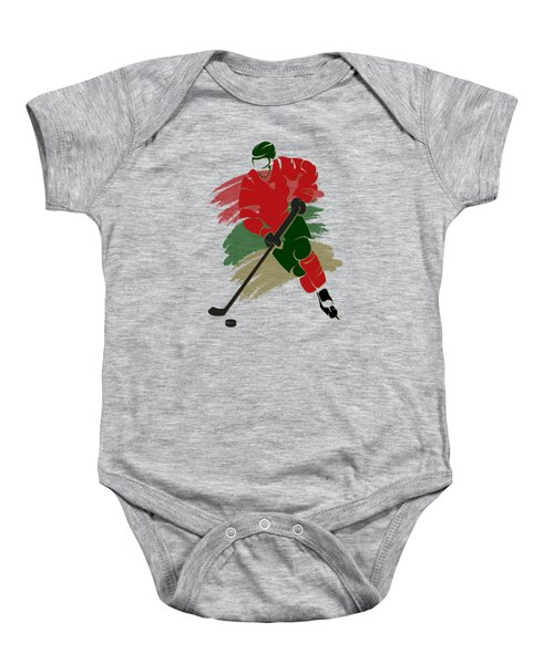 Minnesota Wild Player Shirt Baby Onesie