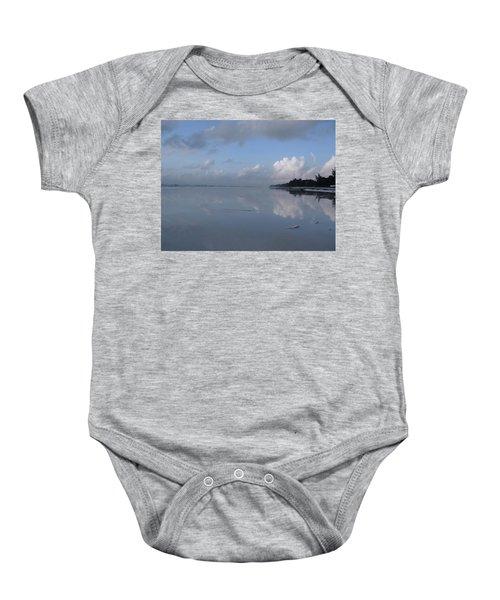 Mirror Ocean Water Baby Onesie