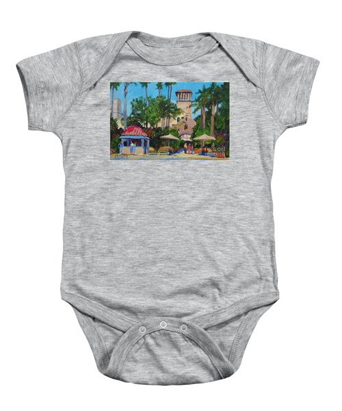 Mission Inn On A Sunny Day Baby Onesie