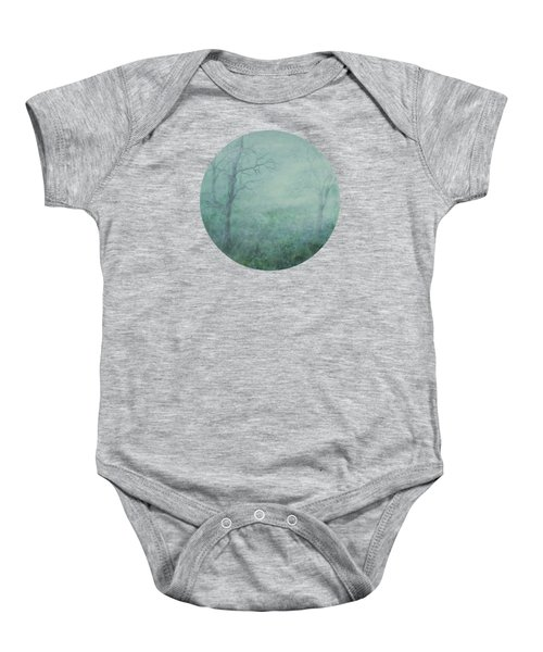 Mist On The Meadow Baby Onesie