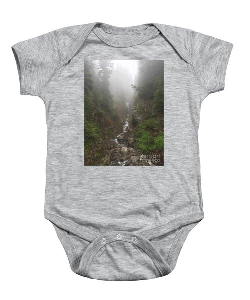 Misted Waterfall Baby Onesie