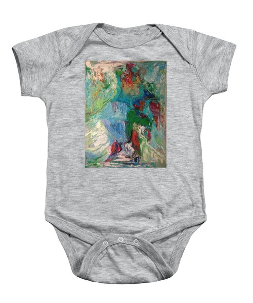 Misty Depths Baby Onesie
