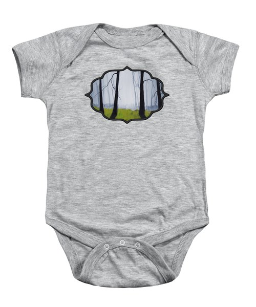 Misty Forest Baby Onesie