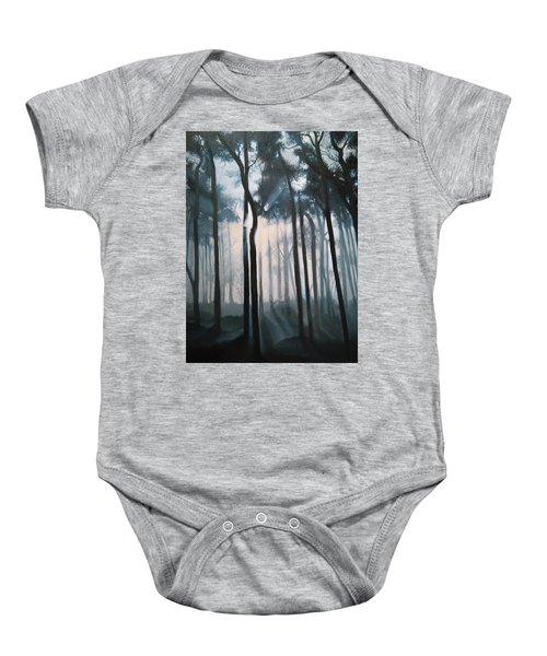 Misty Woods Baby Onesie