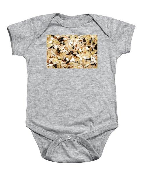 Mixed Rice Baby Onesie