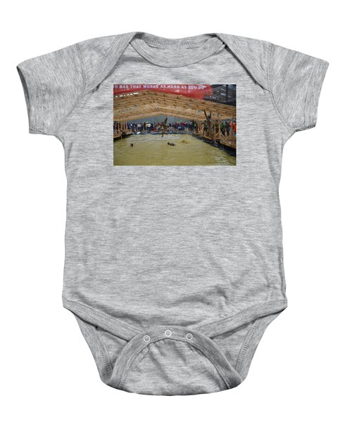 Monkey Bars Baby Onesie