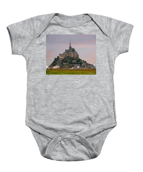 Mont Saint Michel Baby Onesie
