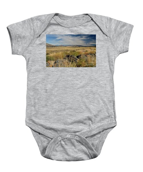 Montana Route 200 Baby Onesie