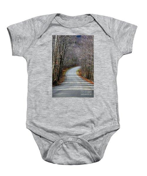 Montgomery Mountain Rd. Baby Onesie