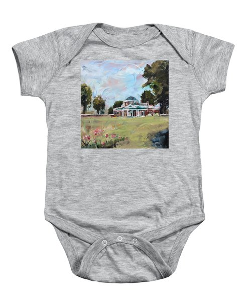 Monticello Charlottesville Virginia Baby Onesie