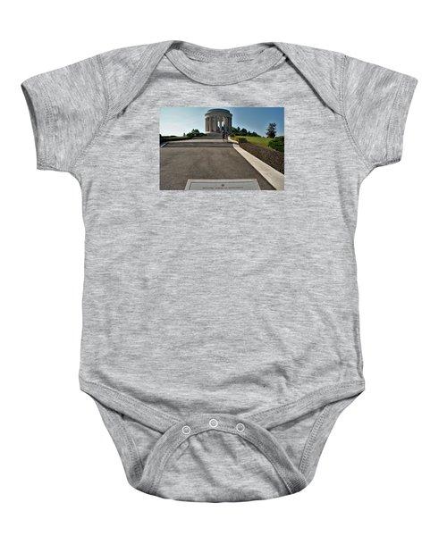 Montsec American Monument Baby Onesie