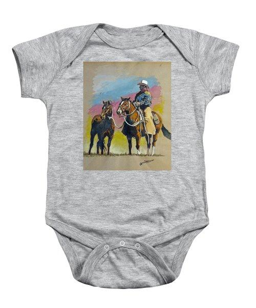 Monty Roberts Baby Onesie