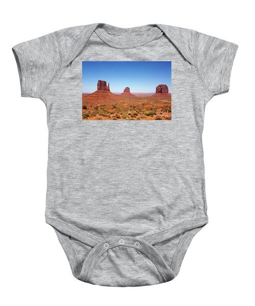 Monument Valley Utah The Mittens Baby Onesie