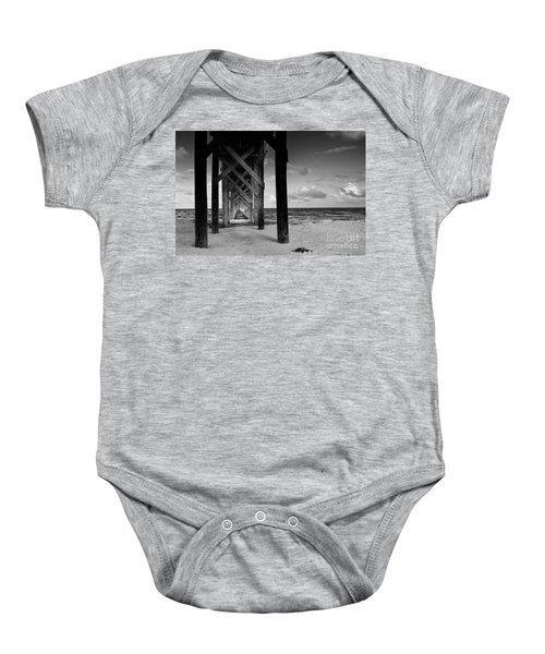 Moon Deck Baby Onesie