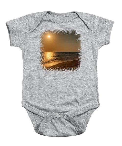 Moonscape 3 Baby Onesie