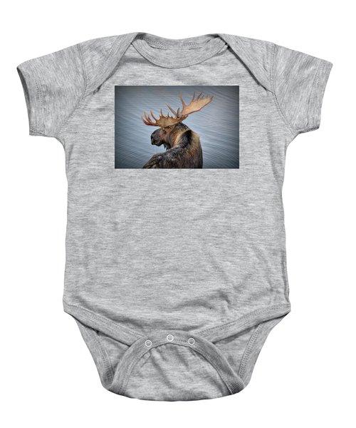 Moose Drool Baby Onesie