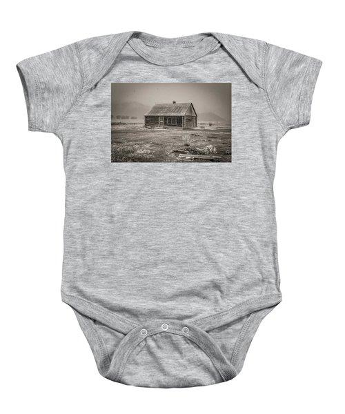 Mormon Row Grand Teton National Park  Baby Onesie