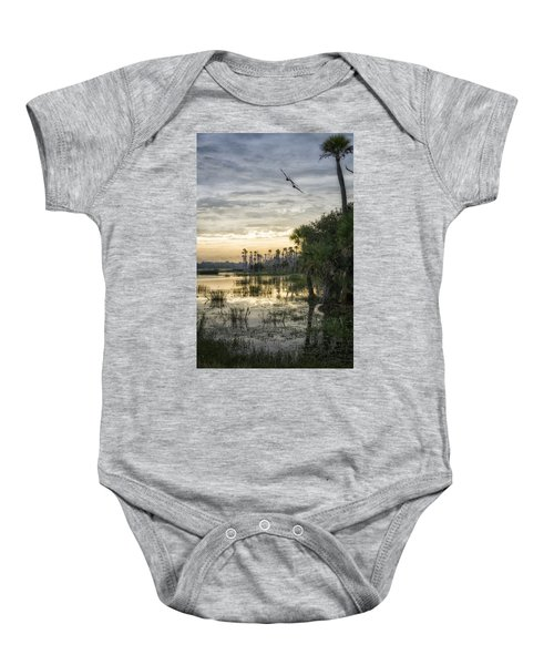 Morning Fly-by Baby Onesie