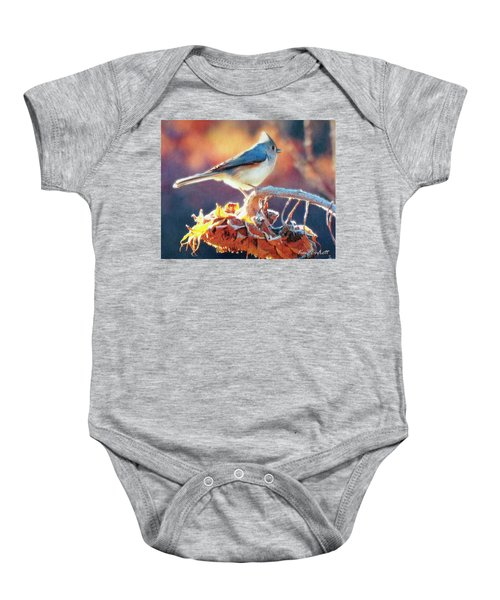 Morning Glow Baby Onesie