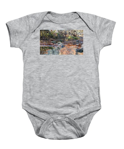 Morning In The Woods Baby Onesie