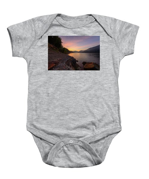 Morning On The Bay Baby Onesie