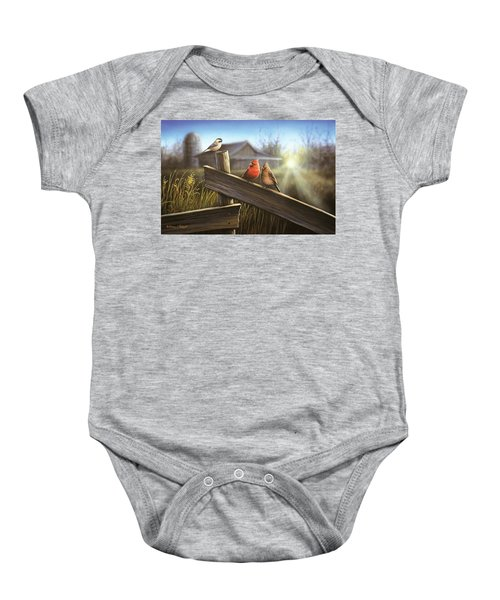 Morning Song Baby Onesie