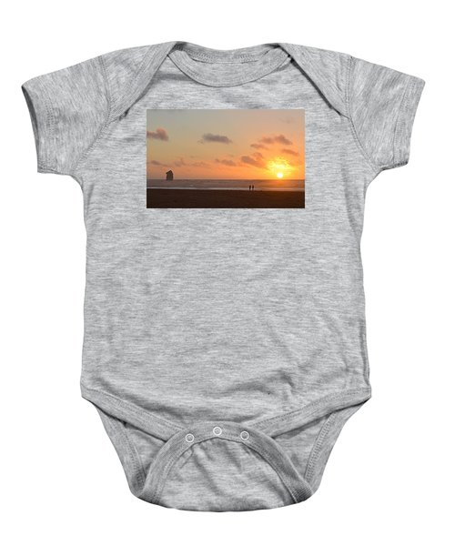 Morro Sunset Baby Onesie