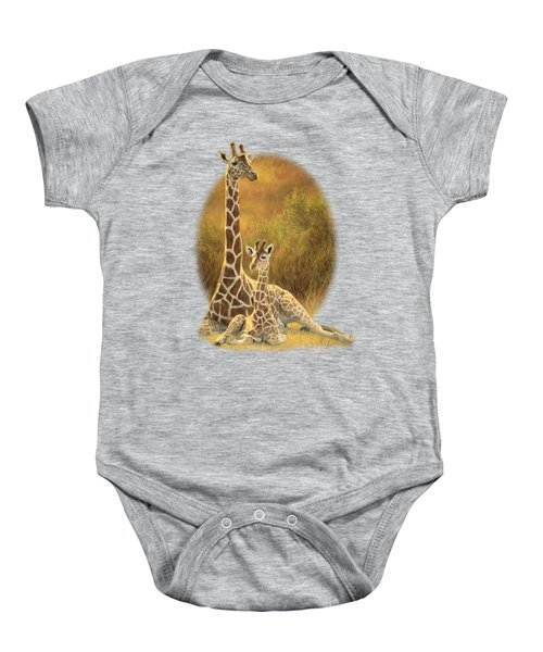 Mother And Son Baby Onesie by Lucie Bilodeau
