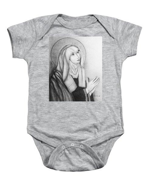 Mother Of Sorrows Version1 Baby Onesie