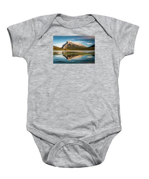 Mount Rundle Banff Baby Onesie