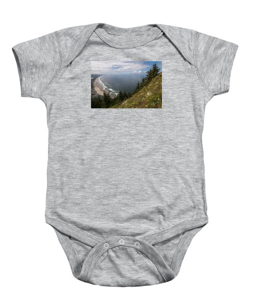 Mountain And Beach Baby Onesie