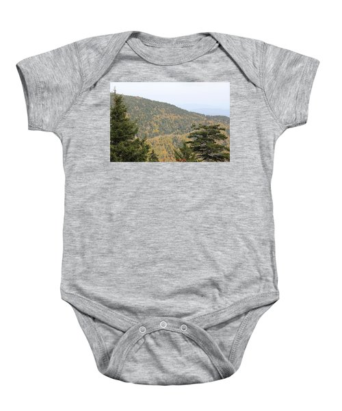 Mountain Passage Baby Onesie