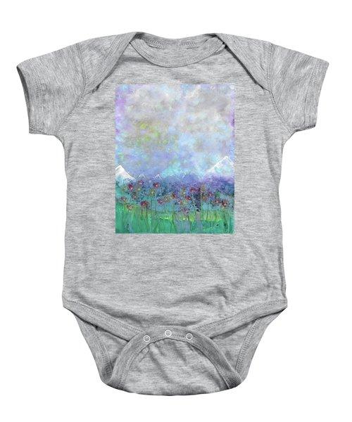 Mountain Valley Dew Baby Onesie