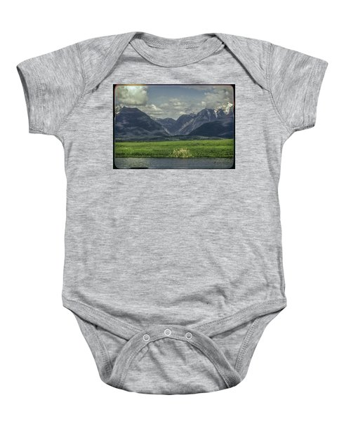 Mountain View Montana.... Baby Onesie