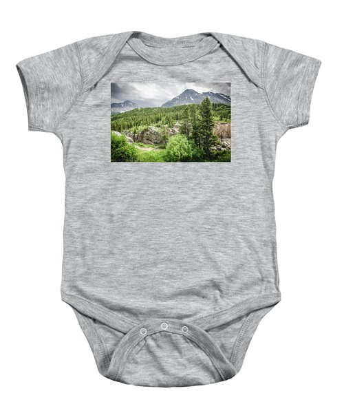 Mountain Vistas Baby Onesie