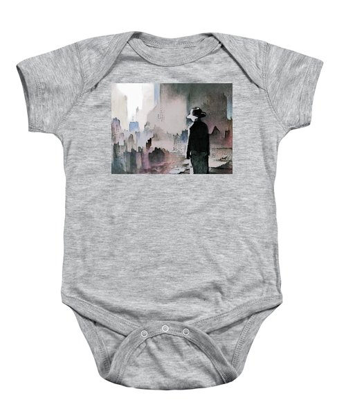 Mourning The American Dream Baby Onesie