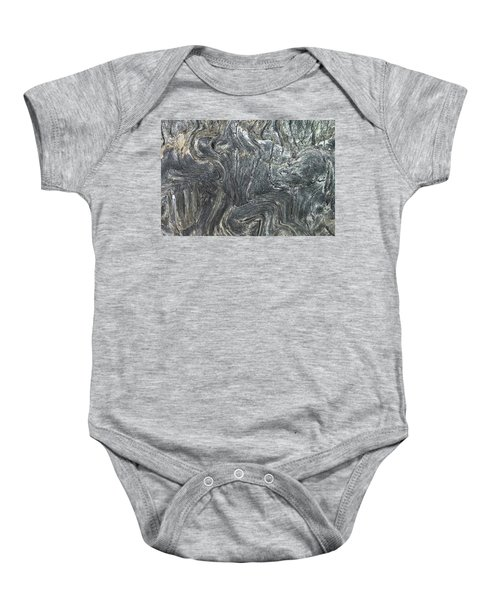 Movement In The Earth Baby Onesie