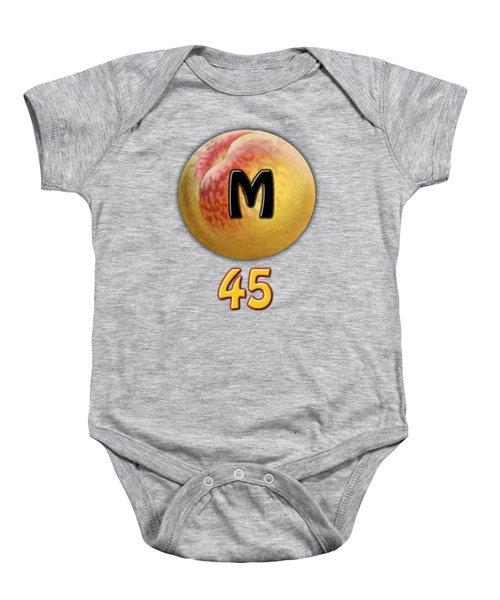 Mpeach 45 Baby Onesie