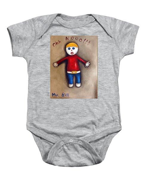 Mr. Bill Baby Onesie