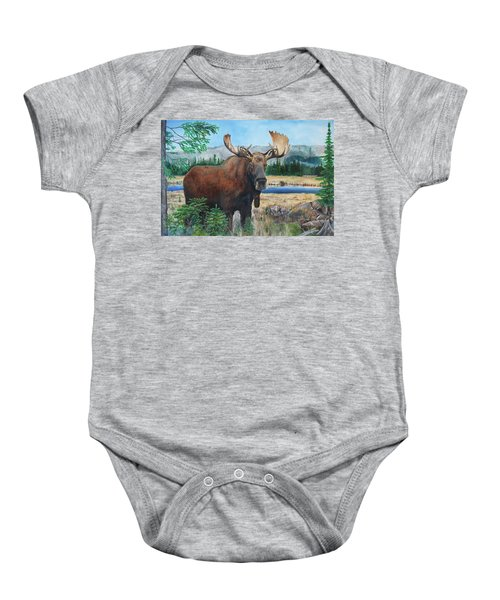 Mr. Majestic Baby Onesie