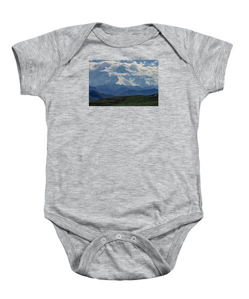 Baby Onesie featuring the photograph Denali by Gary Lengyel
