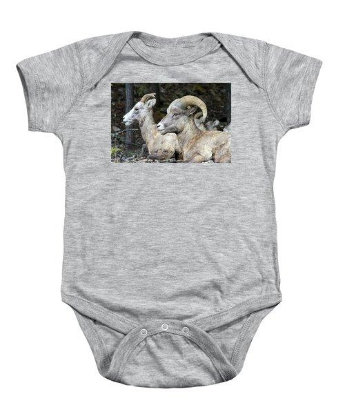 Mt Sheep  Baby Onesie