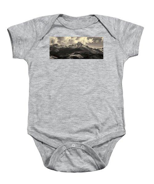 Mt. Sneffels Baby Onesie