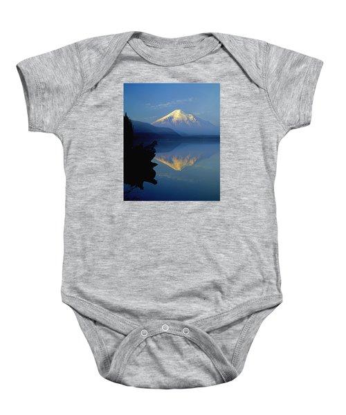 1m4907-v-mt. St. Helens Reflect V  Baby Onesie